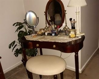 Beautiful make up table