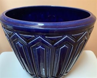 a period art deco planter