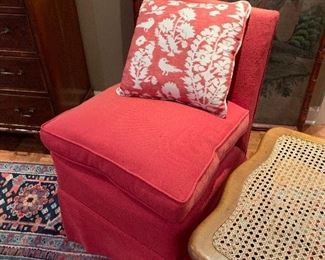 Chairs originally purchased at Billy Baldwin's New York City shop in the 1940s!