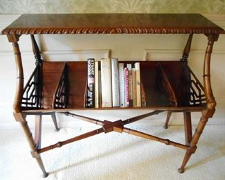 FABULOUS BOOKCASE TABLE