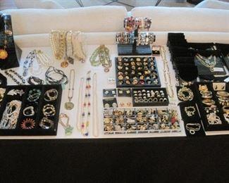 Costume Jewelry by St. John, Dior, Fendi, Baccarat, Swarovski and others.