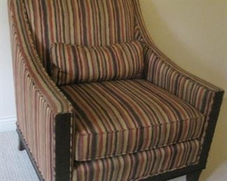 Armchair by Kravet Furniture Company.