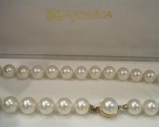 Majorica Pearl Necklace.