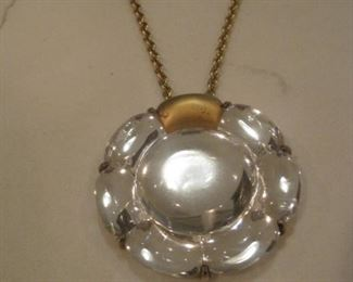 Baccarat Necklace.