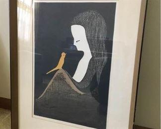 Vintage Kaoru Kawano Japanse Woodblock Print https://ctbids.com/#!/description/share/186651