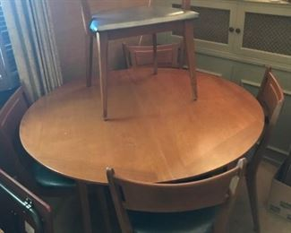 Heywood Wakefield Table and 5 Chairs