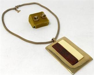 Vintage Lanvin Necklace https://ctbids.com/#!/description/share/188250
