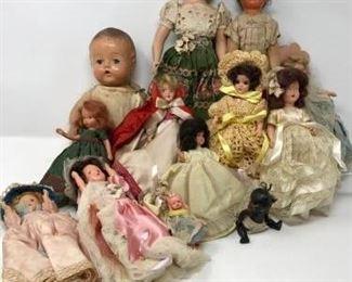 Vintage Dolls Cornucopia  https://ctbids.com/#!/description/share/188255