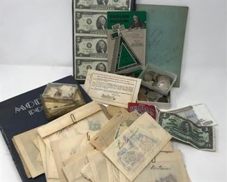 Silver Coins and Stamp Collection https://ctbids.com/#!/description/share/188256