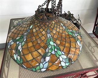Ca 1910 Williamson lamp shade.