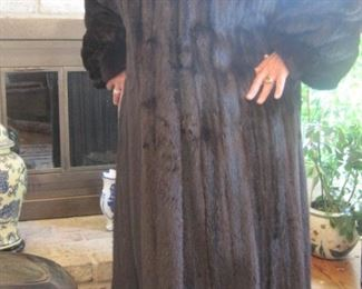 A Fine Full Length Mink Coat.