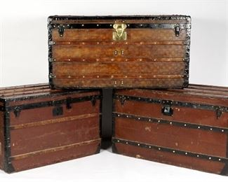 Louis Vuitton wardrobe trunks