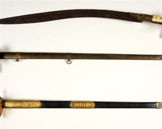 Collection of 19th C. swords