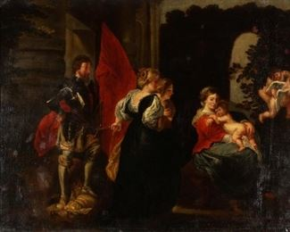 18th Century Old Master Style Painting