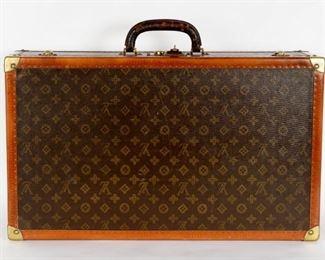 Vintage Louis Vuitton Altzer 65 Hardcase Suitcase