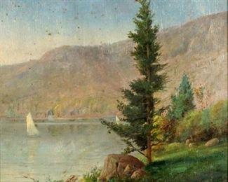 Nicholas Alden Brooks Landscape Painting