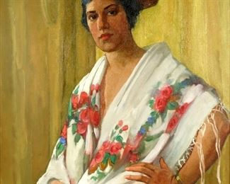 Edith Walters Harper Portrait of Lucia