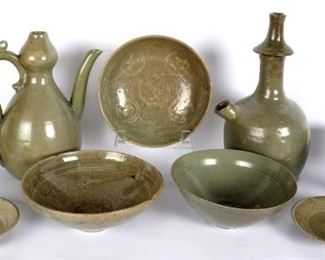 Large collection of Early Korean Pottery