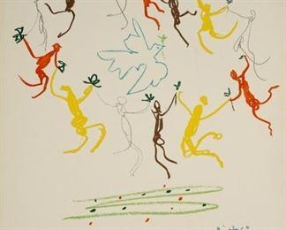 Picasso La Ronde de la Jeunesse Lithograph