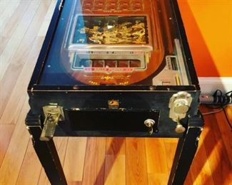 Very Rare 1933 Chicago Worlds Fair Pinball Machine