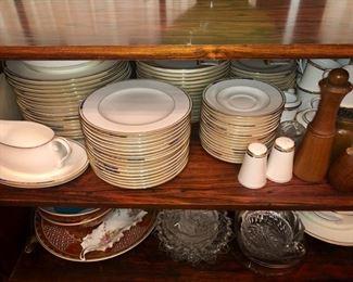 China, crystal, dinner ware