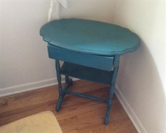 ANTIQUE PAINTED TABLE