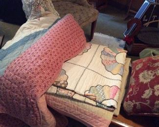SOME OF MANY QUILTS