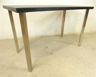 Black Brushed Nickel Table