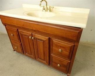 Bathroom Vanity Cabinet with Sinktop