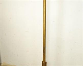 GoldColored Steel Coat Rack
