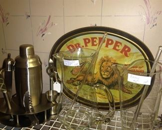 Vintage Dr. Pepper tray