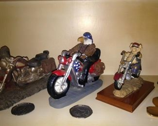 Motorcycles for accessorizing your shelves