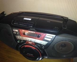 Sony tape player