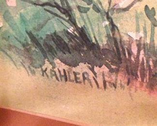 Artist Kahler