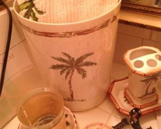 Palm tree accessories