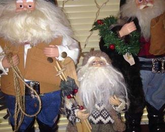 Cowboy Santas