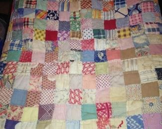 Very old quilt (as is)