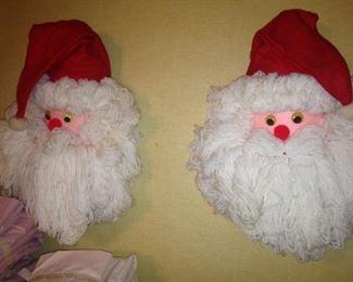 Wall Santas