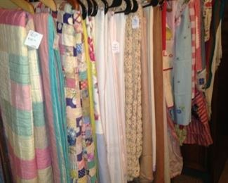 Table cloths and more quilts