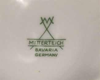 Mitterteich china from Bavaria Germany