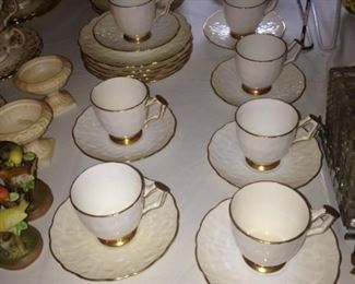Aynsley  cups & saucers- English bone china