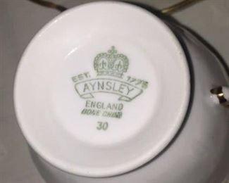 Aynsley - English bone china