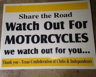 """""""Share the road .  .  .  """""""