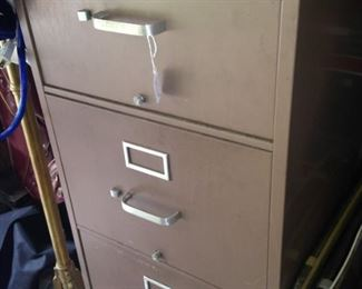 Four-drawer file cabinet