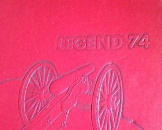 1974 Robert E. Lee yearbook