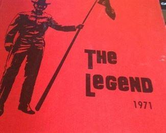 """""""The Legend 1971"""" - Robert E. Lee High School  - Tyler, TX"""