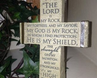 """The Lord is my rock, my fortress,   .  .  .  """"  II Samuel 22:2-3"""