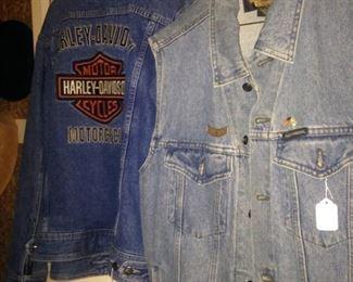 Harley-Davidson jacket & vest