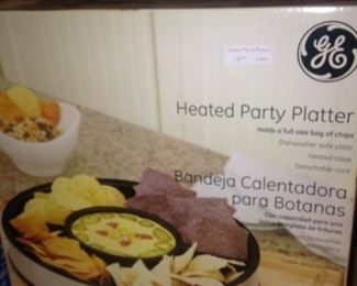 GE heated Party Platter - still in the box