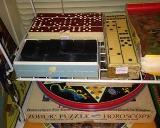 More dominoes and games